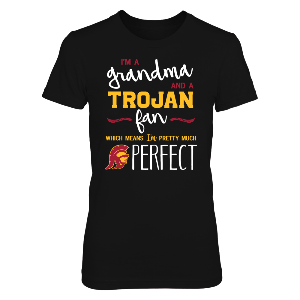 Perfect Grandma USC Trojans Fan T-Shirt | Tank | Hoodie Front picture
