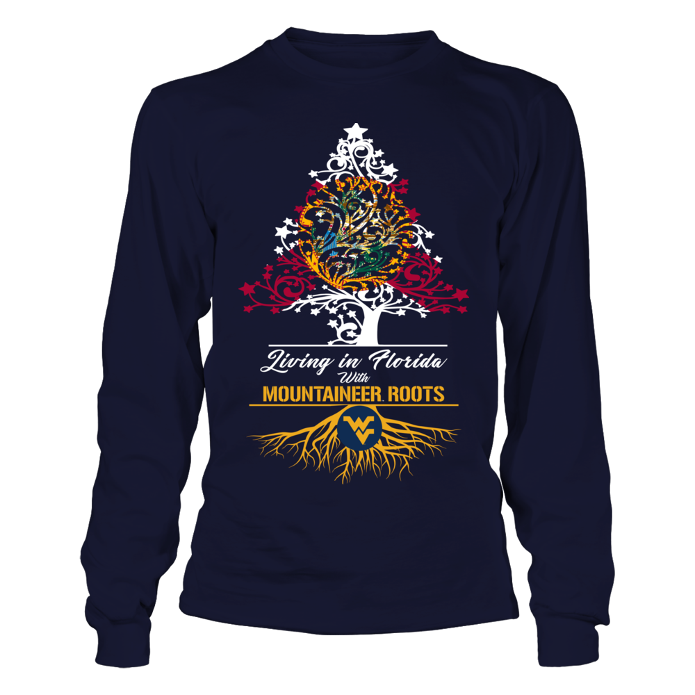 West Virginia Mountaineers - Christmas Roots Front picture