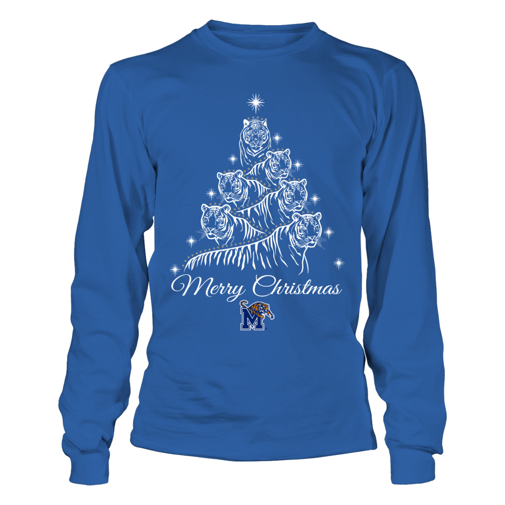 Memphis Tigers - Mascot Xmas Tree Front picture