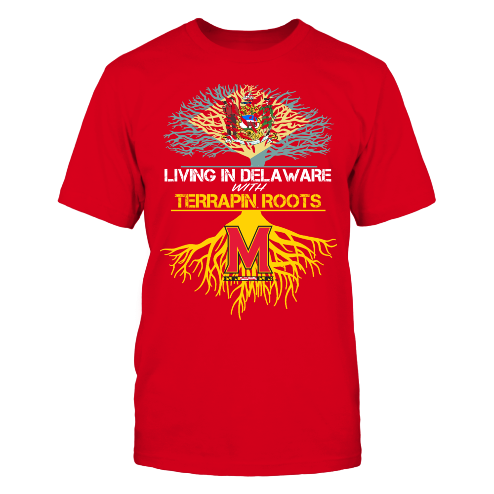 Maryland Terrapins - Living Roots Delaware Front picture