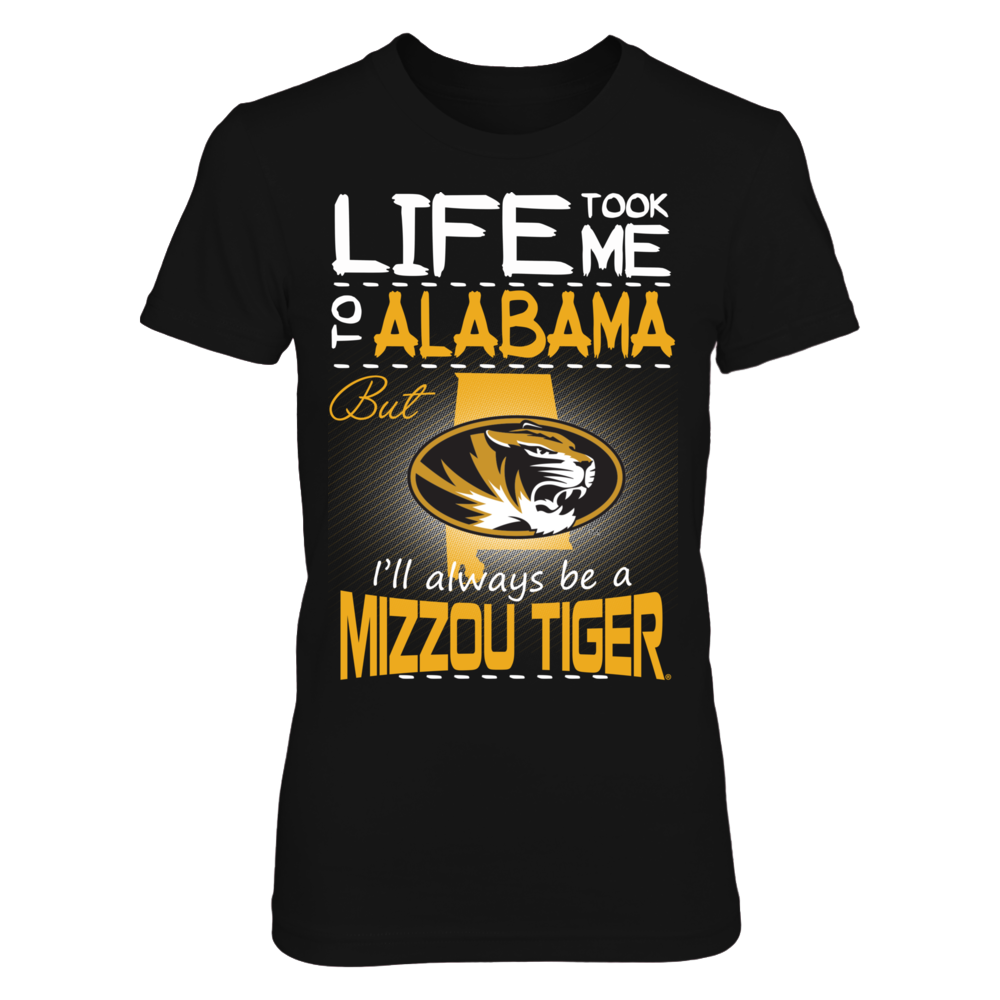 Mizzou Tigers - Life Took Me To Alabama Front picture