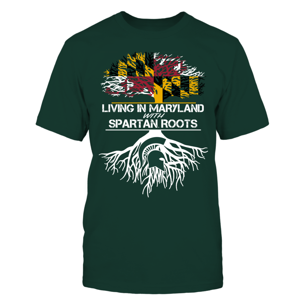 Michigan State Spartans - Living Roots Maryland Front picture