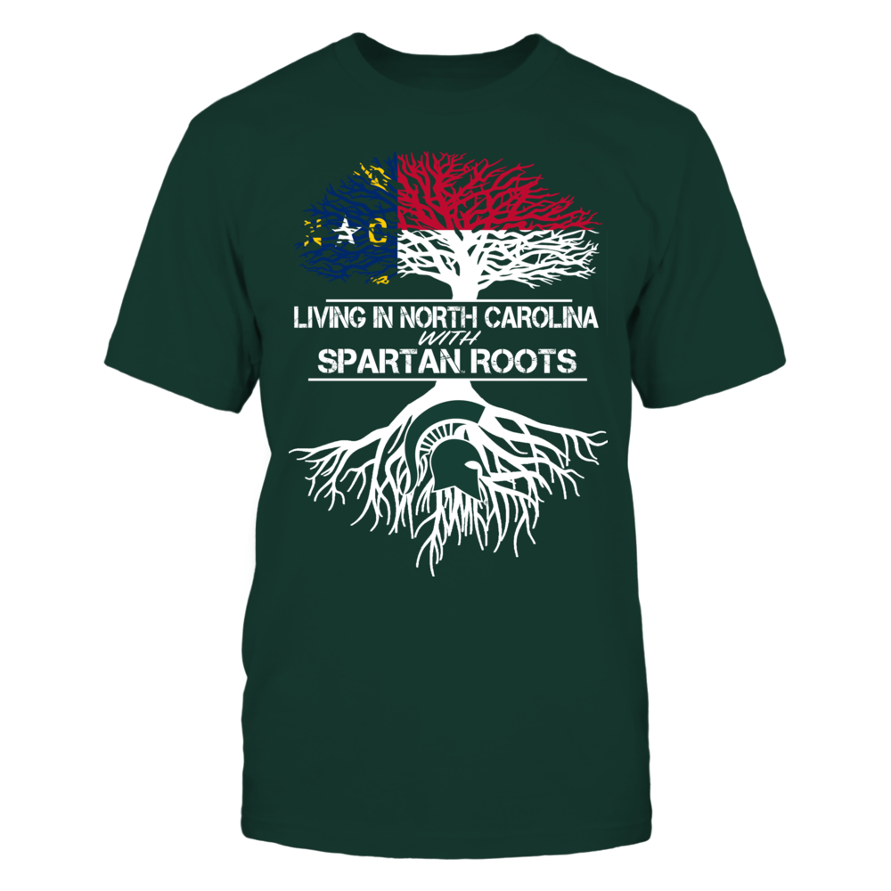 Michigan State Spartans - Living Roots North Carolina Front picture