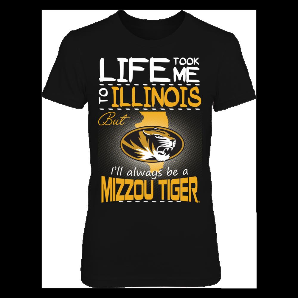 Mizzou Tigers - Life Took Me To Illinois Front picture