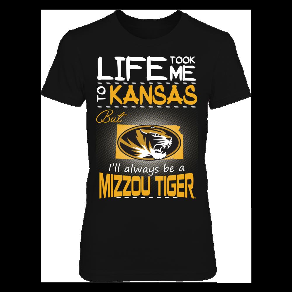 Mizzou Tigers - Life Took Me To Kansas Front picture
