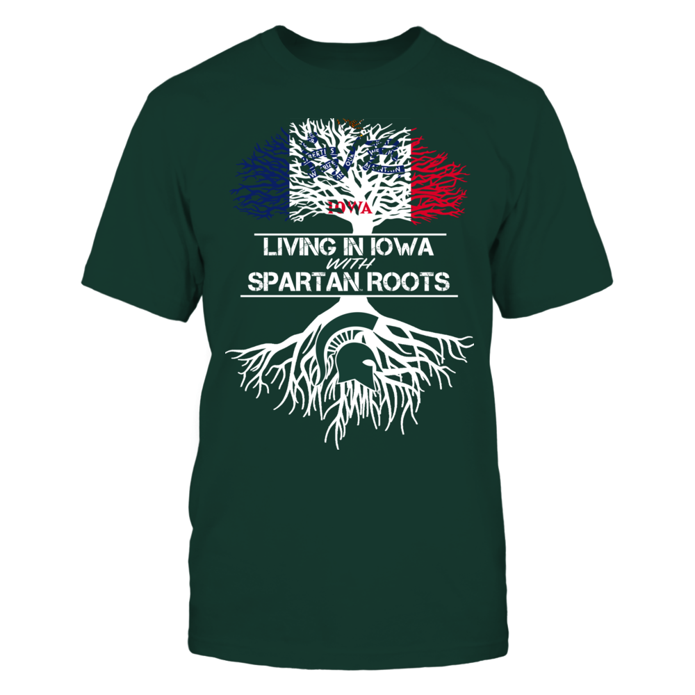 Michigan State Spartans - Living Roots Iowa Front picture