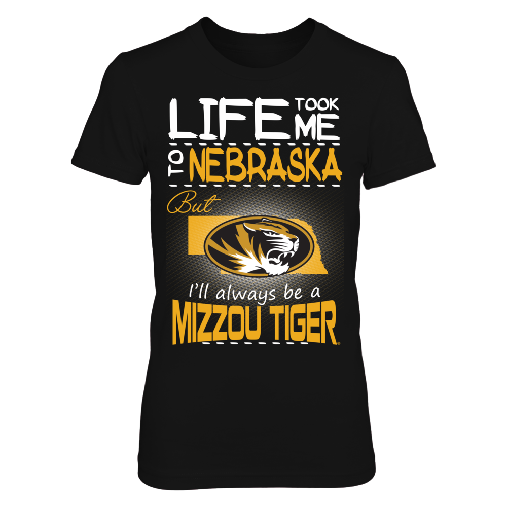 Mizzou Tigers - Life Took Me To Nebraska Front picture