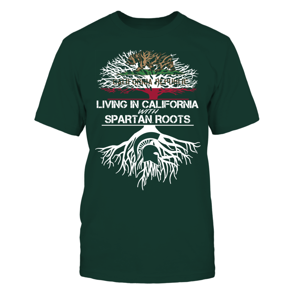 Michigan State Spartans - Living Roots California Front picture