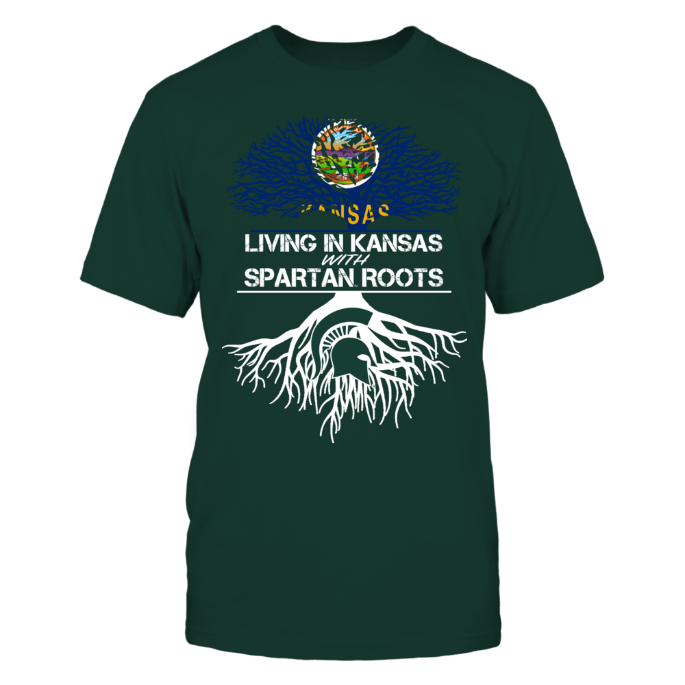 Michigan State Spartans - Living Roots Kansas Front picture