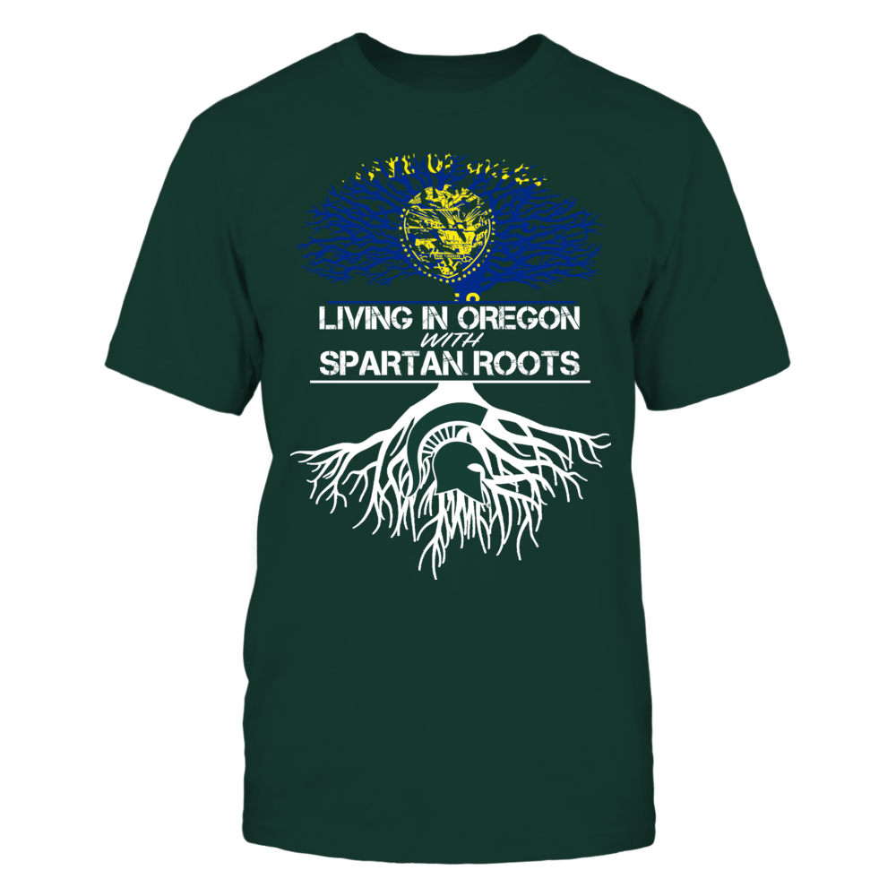 Michigan State Spartans - Living Roots Oregon Front picture