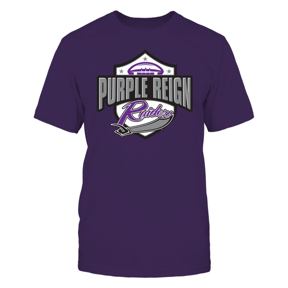 Mount Union National Championship T-Shirt | Tank | Hoodie – Purple Reign Front picture