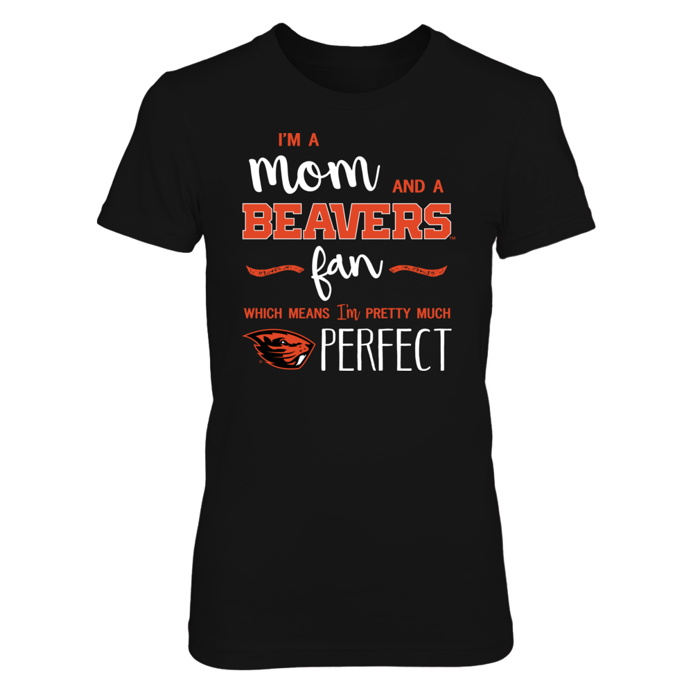 Perfect Mom Oregon State Beavers Fan T-Shirt | Tank | Hoodie Front picture