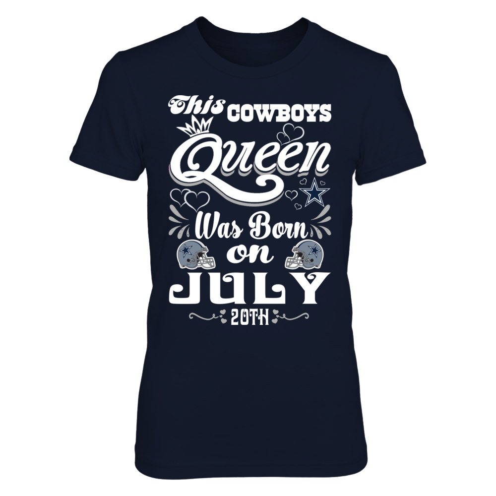 This Cowboys Queen Was Born On July 20th Front picture