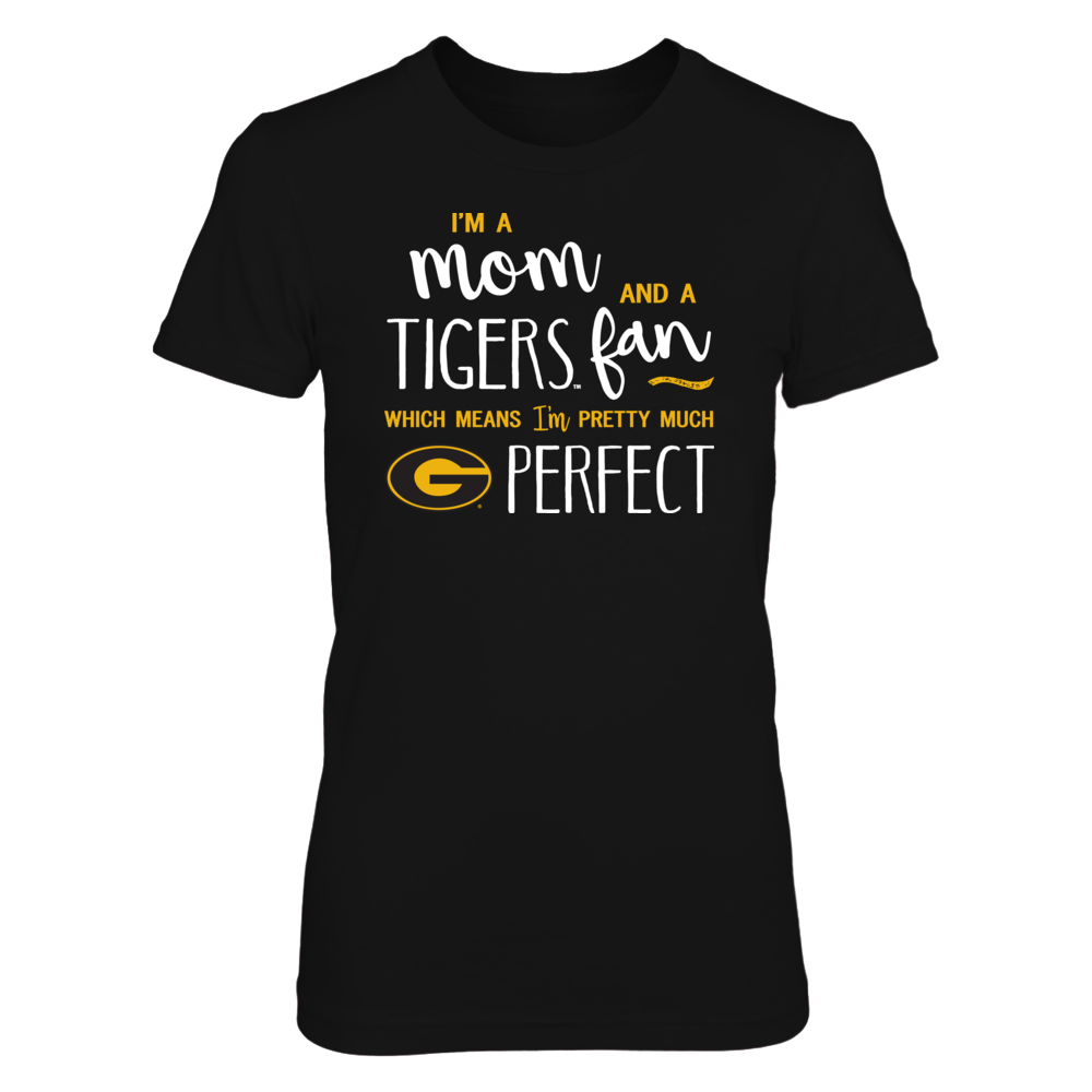 Perfect Mom Grambling State Tigers Fan T-Shirt | Tank | Hoodie Front picture