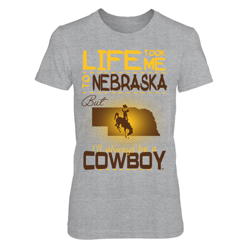 Wyoming Cowboys - Life Took Me To Nebraska Front picture