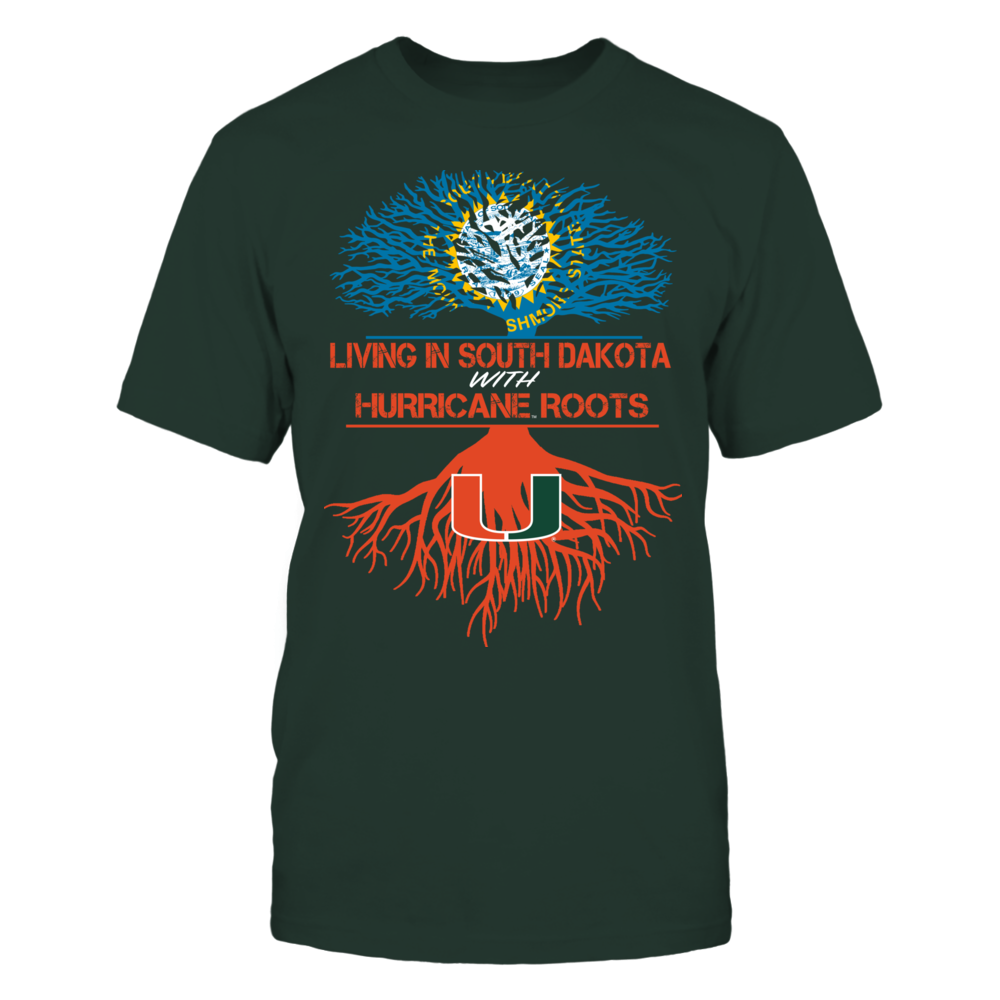 Miami Hurricanes - Living Roots South Dakota Front picture