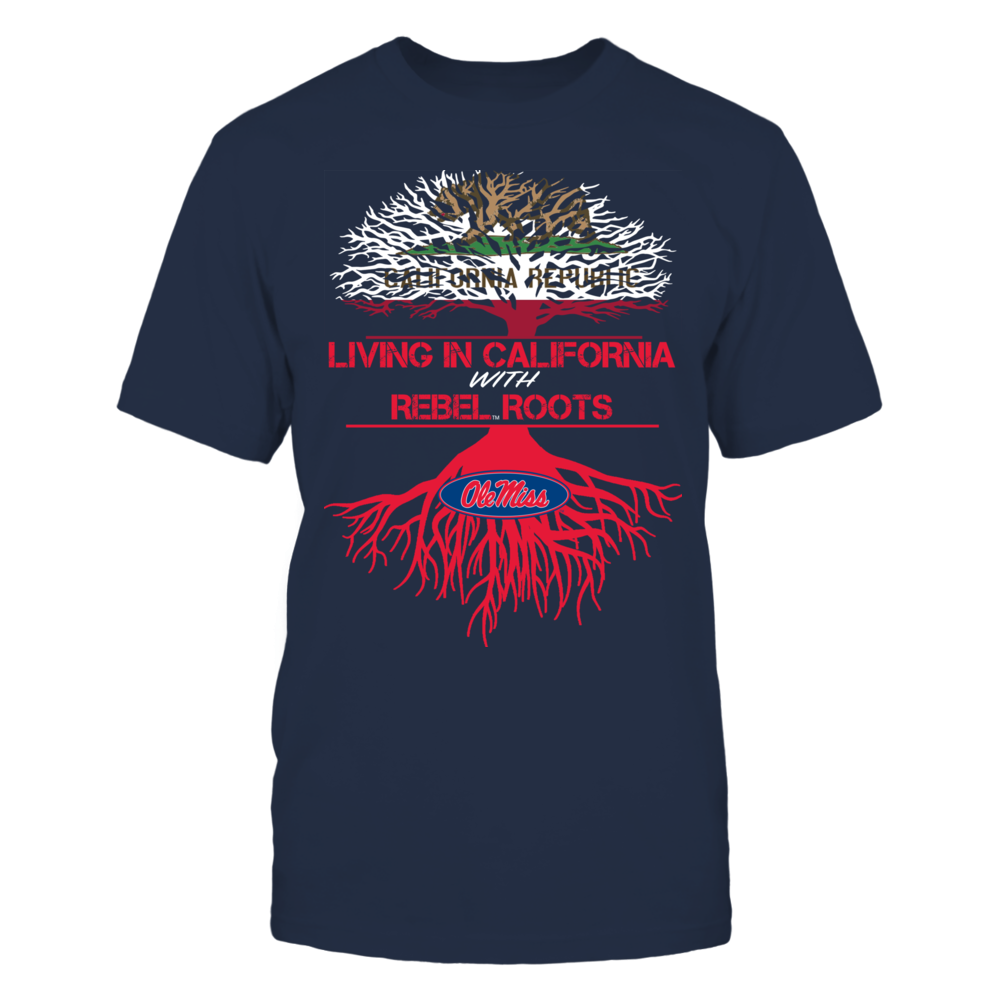 Ole Miss Rebels - Living Roots California Front picture