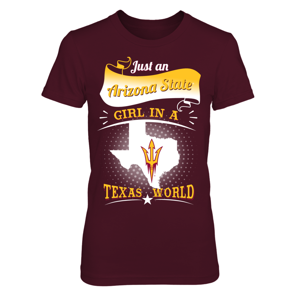 Arizona State - Girl In A Texas World Front picture
