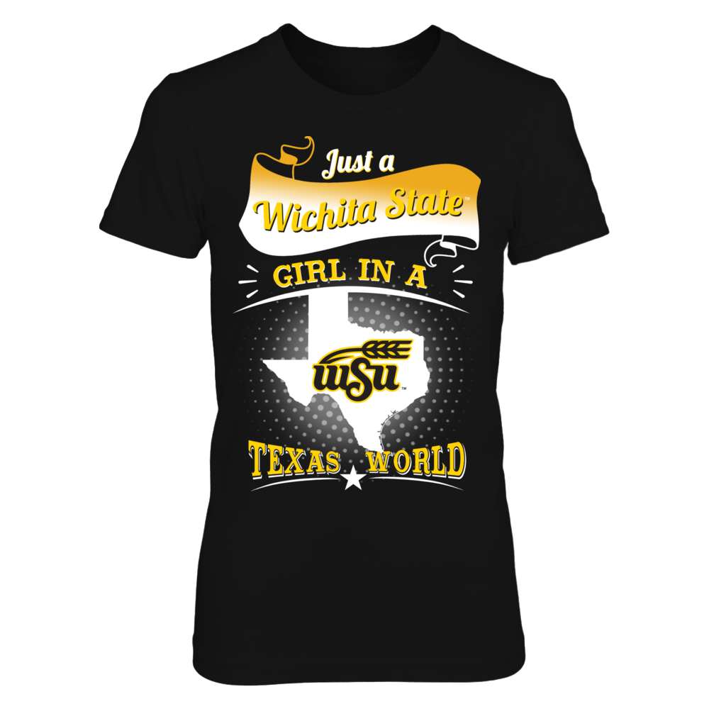 Wichita State Shockers - Girl In A Texas World Front picture