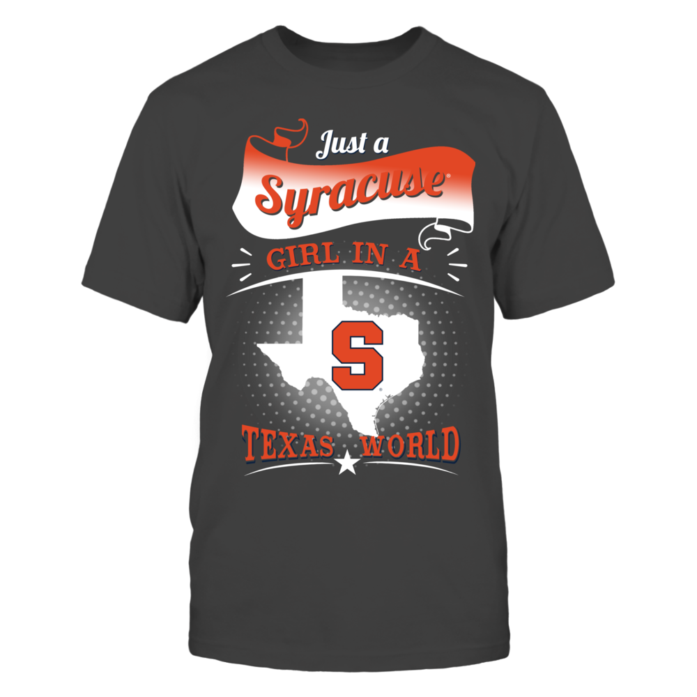 Syracuse Orange - Girl In A Texas World Front picture
