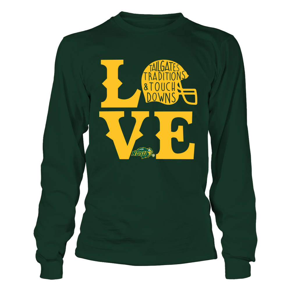North Dakota State Bison - Football Love Front picture