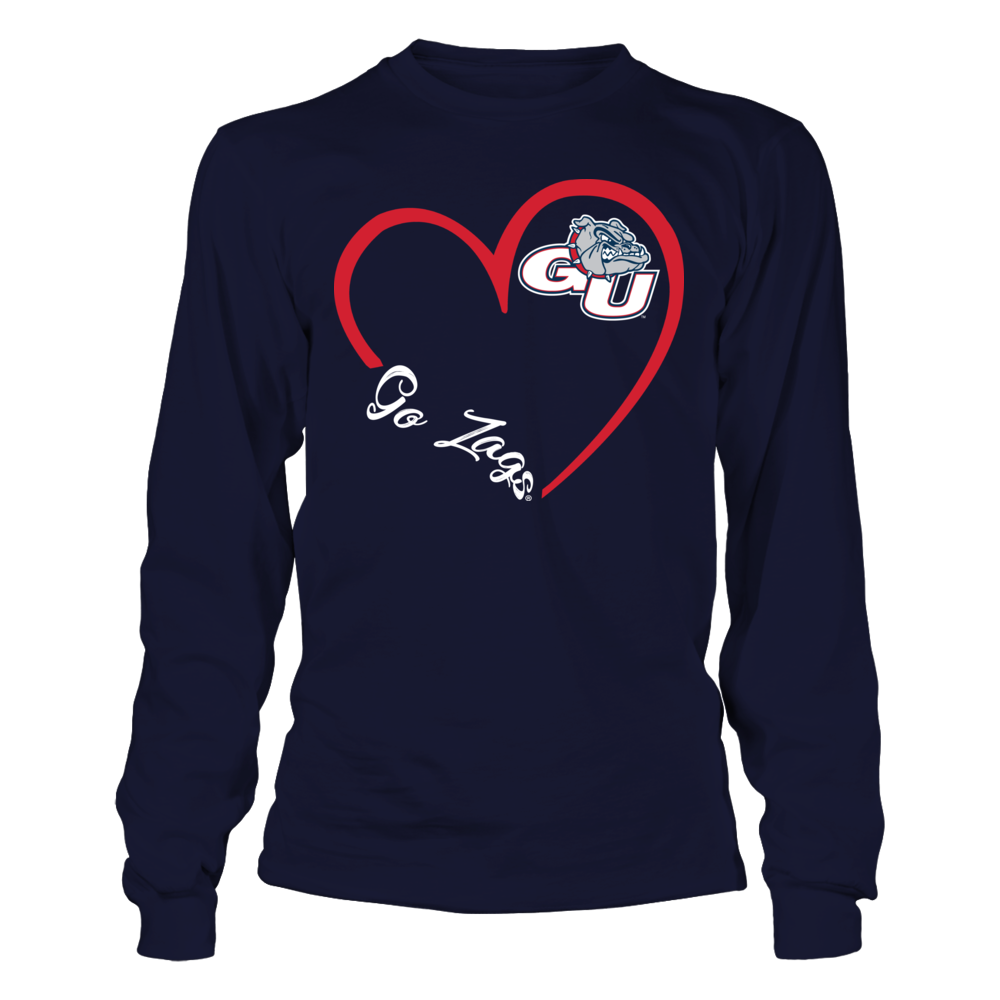 Gonzaga Bulldogs - Heart 3-4  - IF-IC32-DS37 Front picture