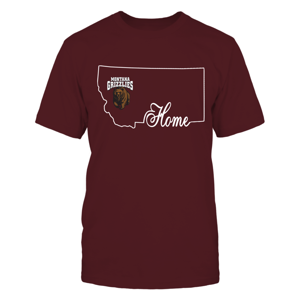 Montana Grizzlies - Home In State Outline Front picture