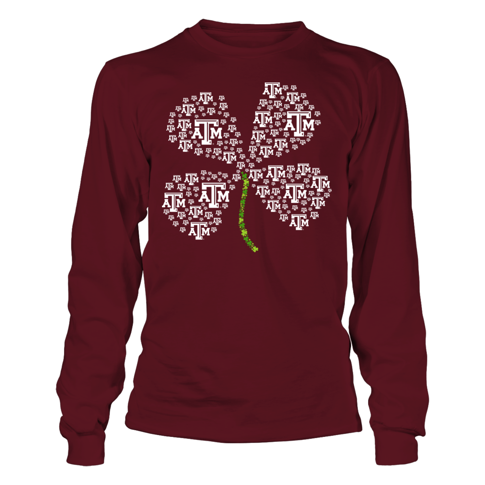 Texas A&M Aggies - Clover Logo Front picture