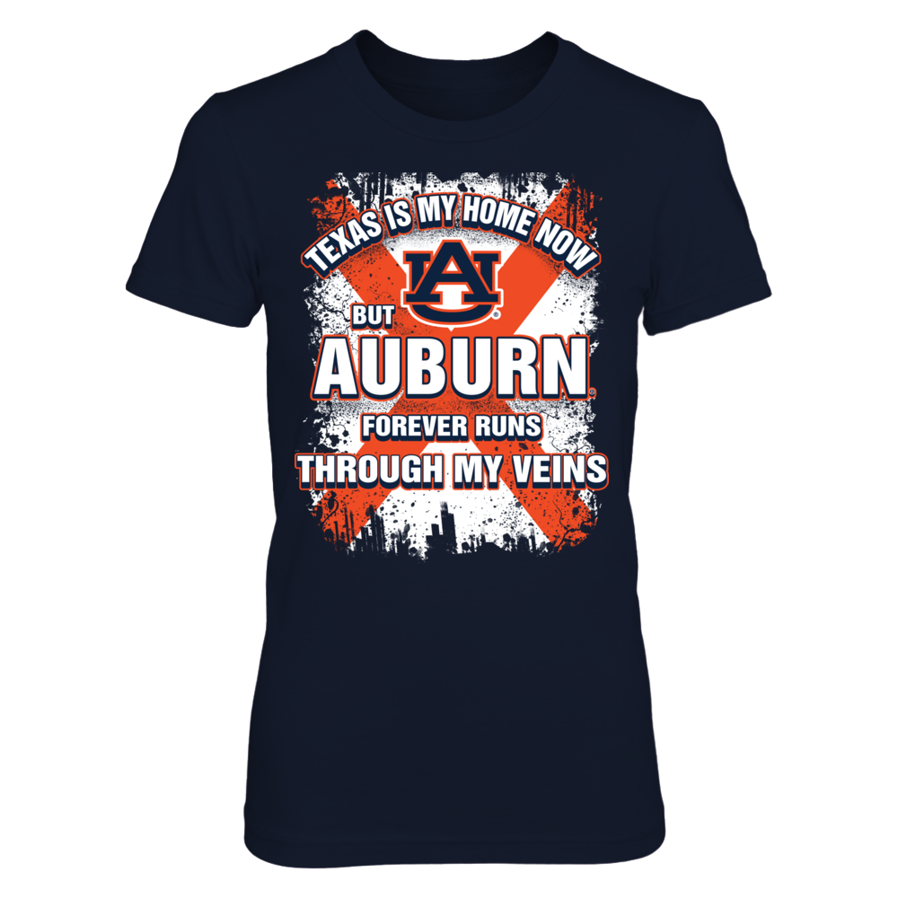 Texas Is My Home Now - Auburn Tigers Front picture