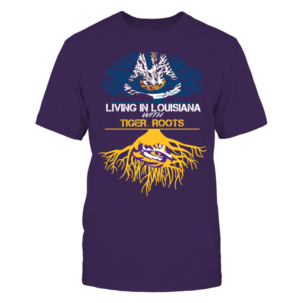 LSU Tigers - Living Roots Louisiana Front picture