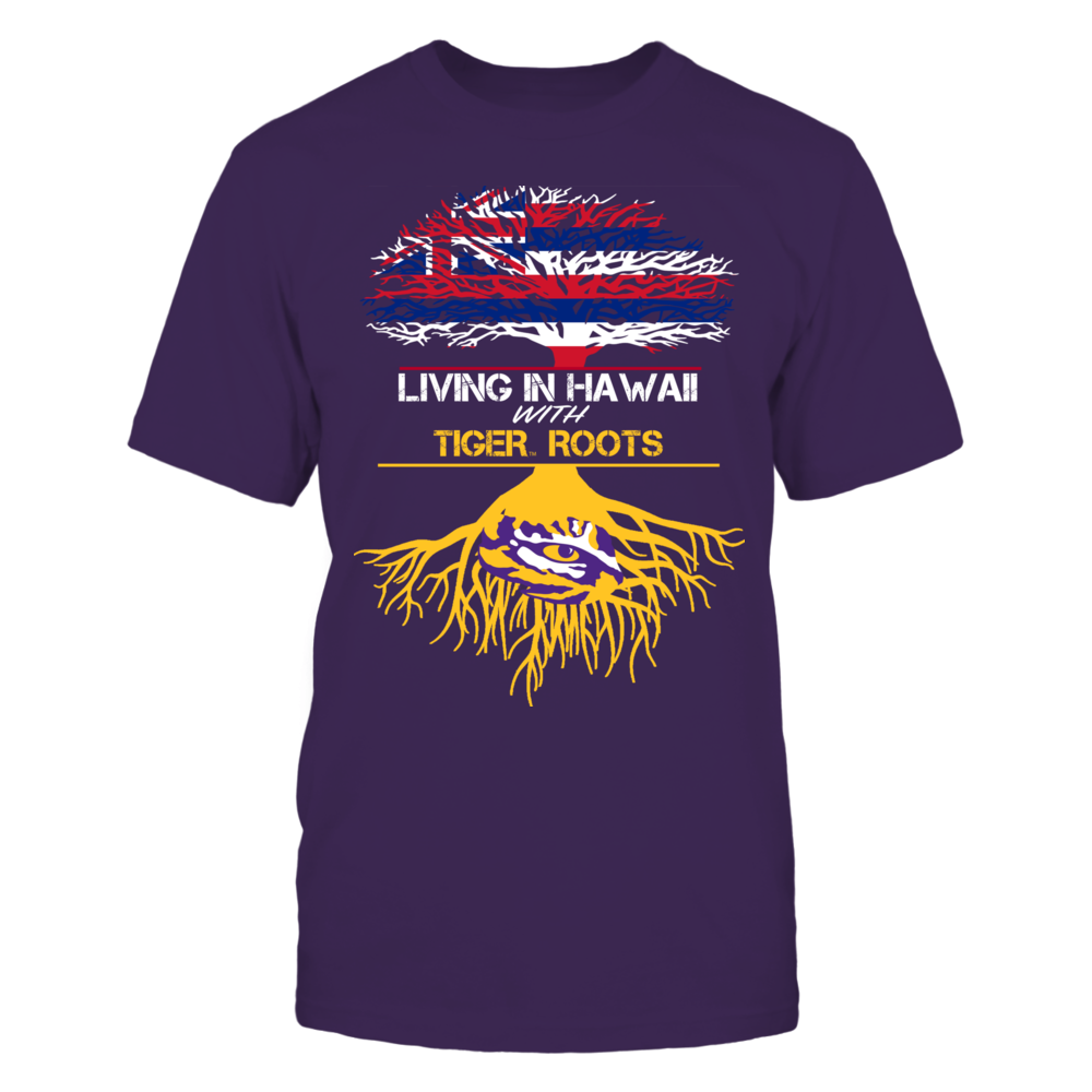 LSU Tigers - Living Roots Hawaii Front picture