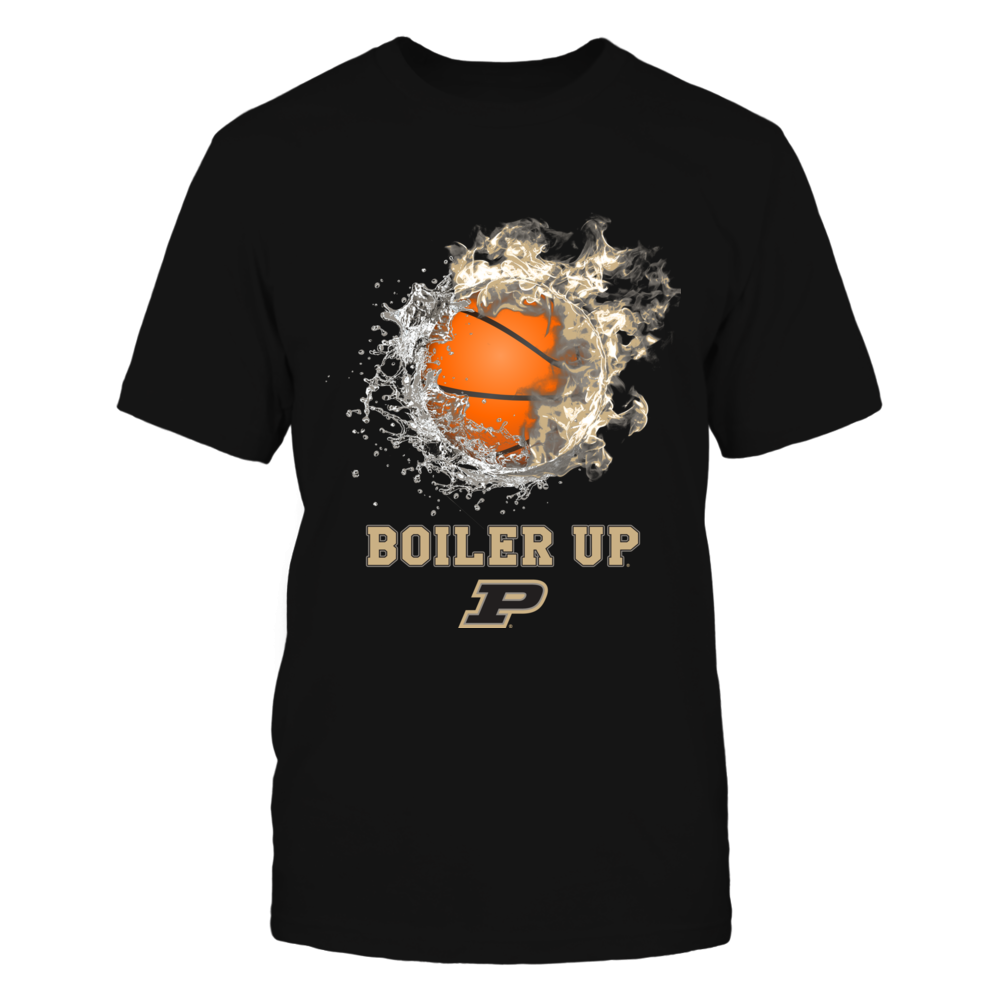 Purdue Boilermakers - Fire And Water Basketball Front picture