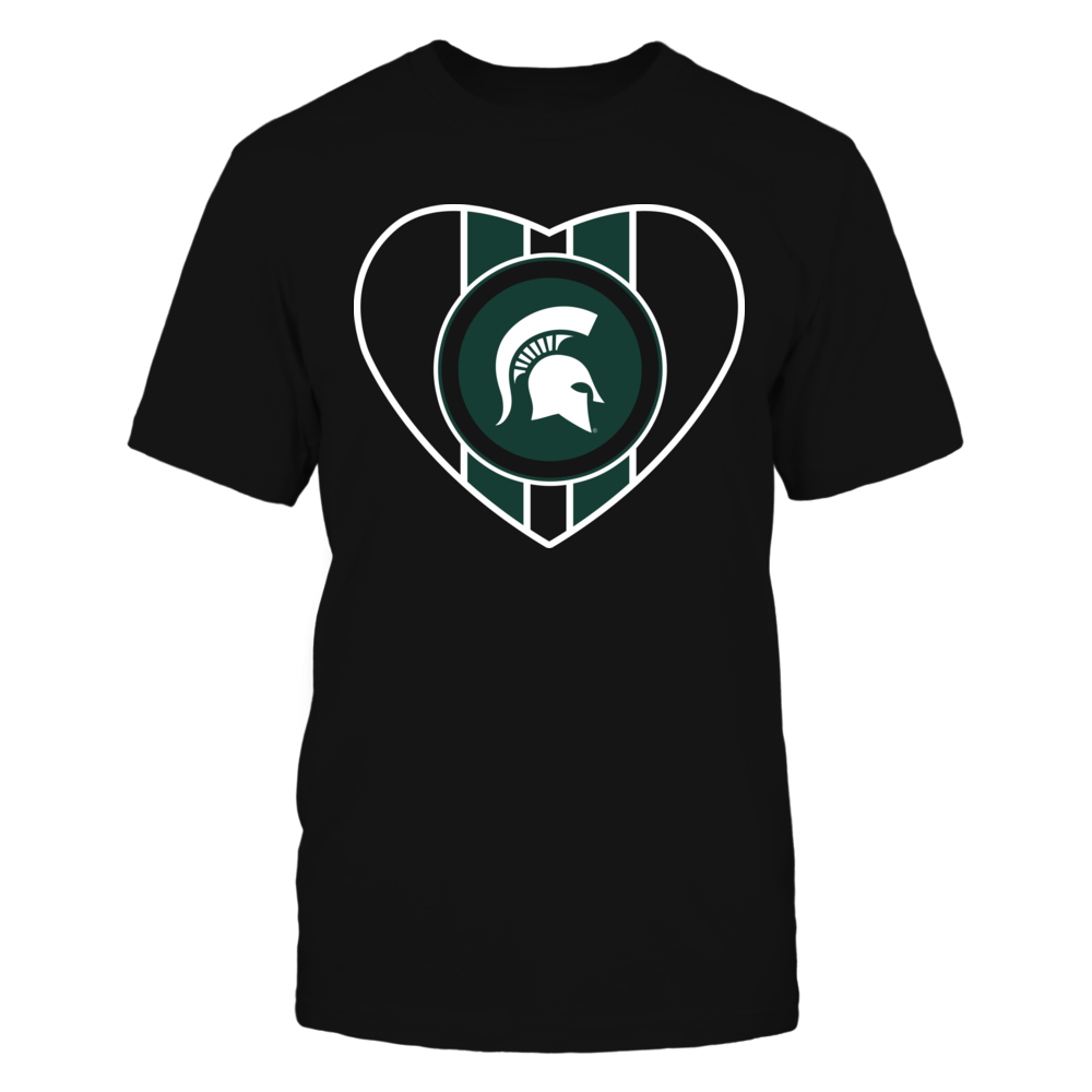 Michigan State Spartans - I Love My Spartan Front picture