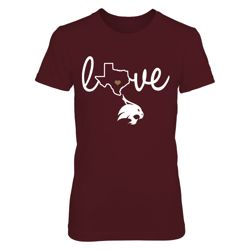 State Love - Texas State Bobcats Front picture