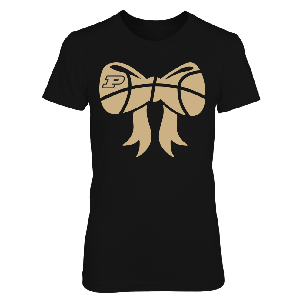 Purdue Boilermakers - Basketball Bow Front picture