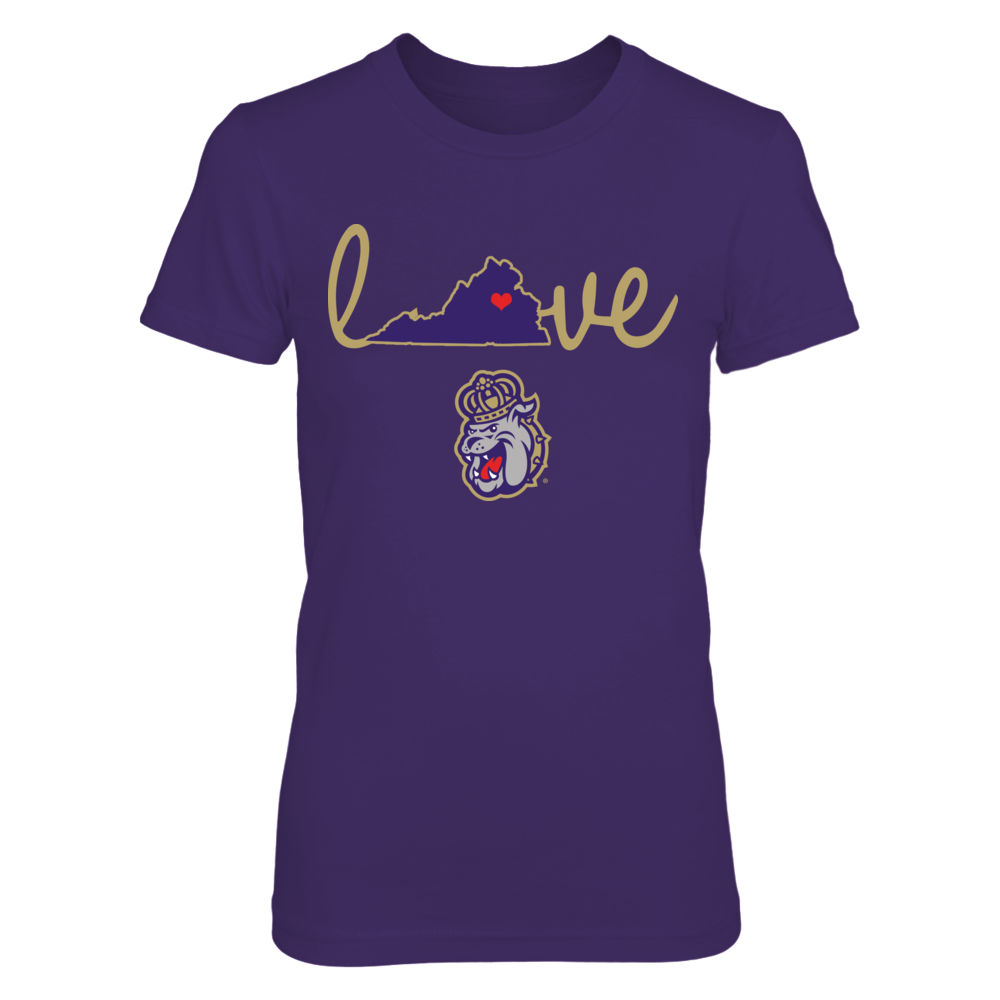 James Madison Dukes - Love In State Outline Front picture