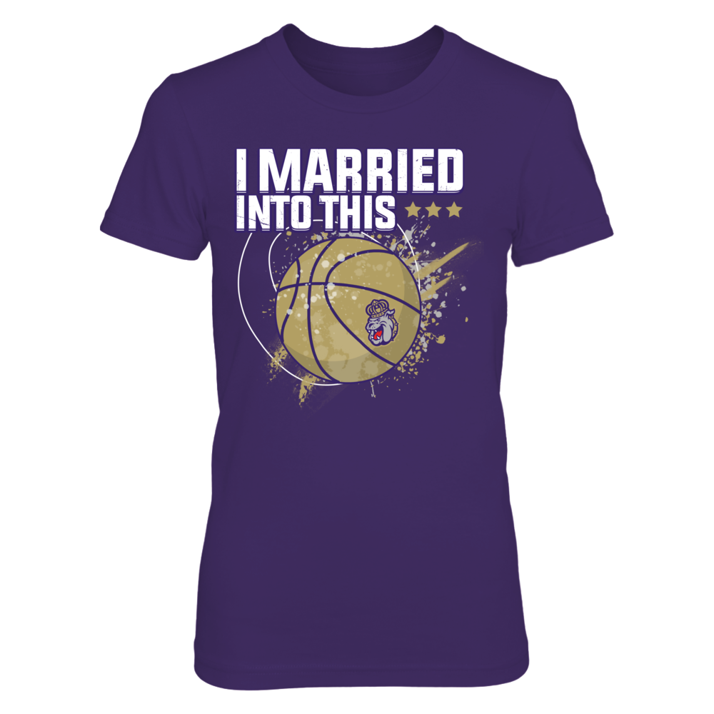 James Madison Dukes - Married Into This Basketball Front picture