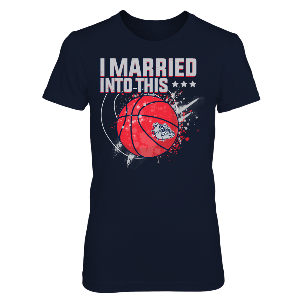 Gonzaga Bulldogs - Married Into This Basketball Front picture