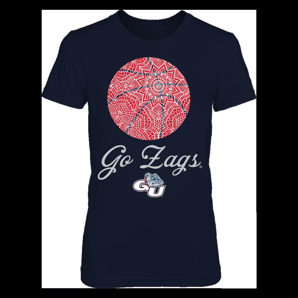 Gonzaga Bulldogs - Zentangle Basketball Front picture