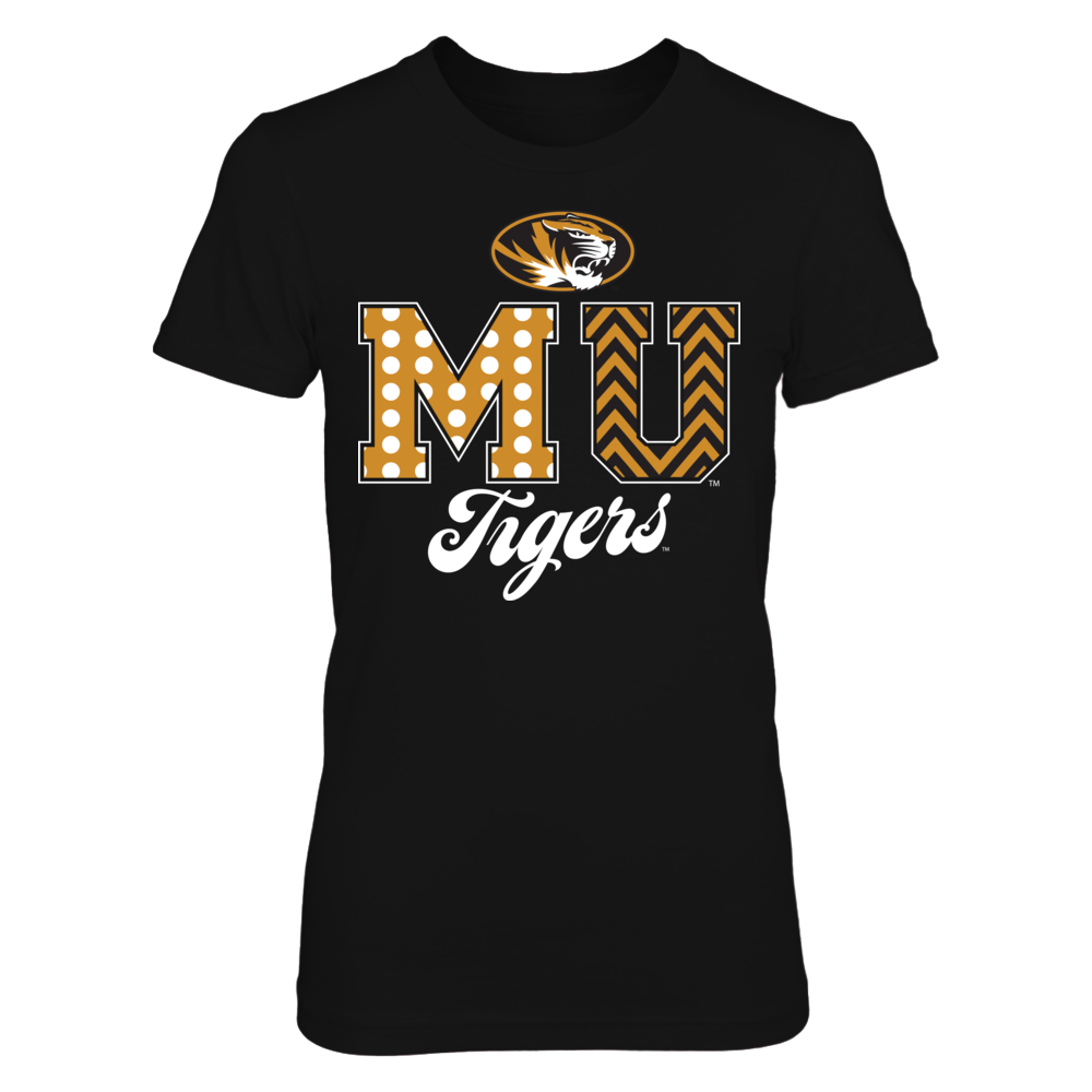 Mizzou Tigers - Patterned Letters Front picture