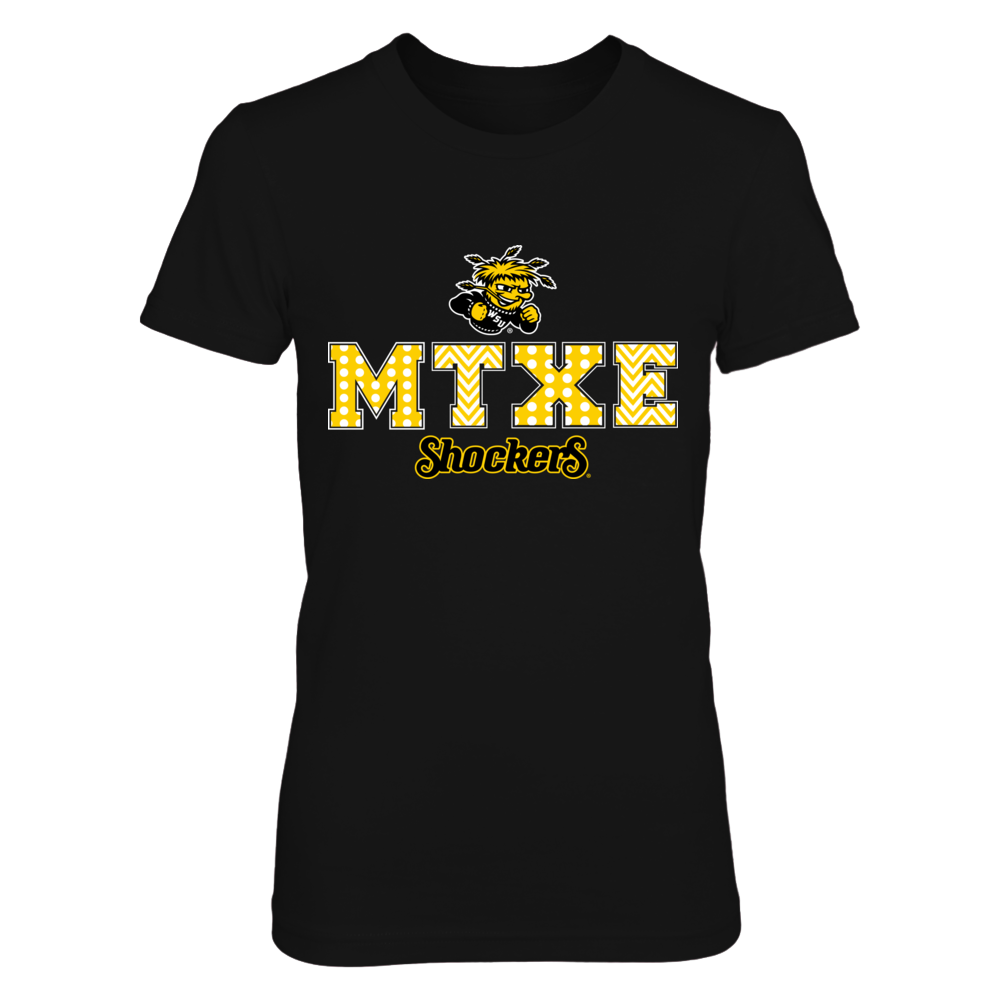 Wichita State Shockers - Patterned Letters Front picture