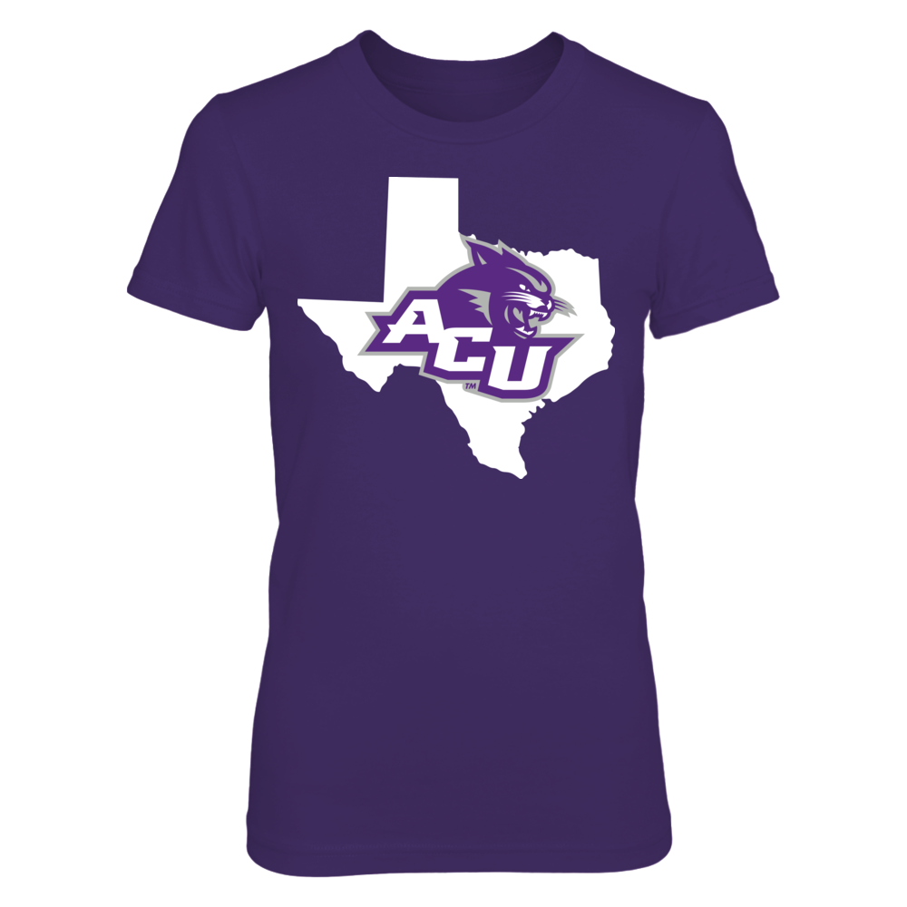 Logo State - Abilene Christian Wildcats Front picture