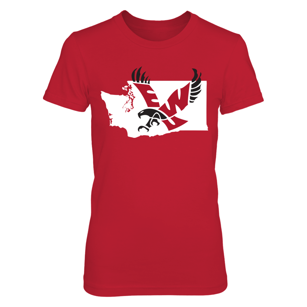 Logo State - Eastern Washington Eagles Front picture