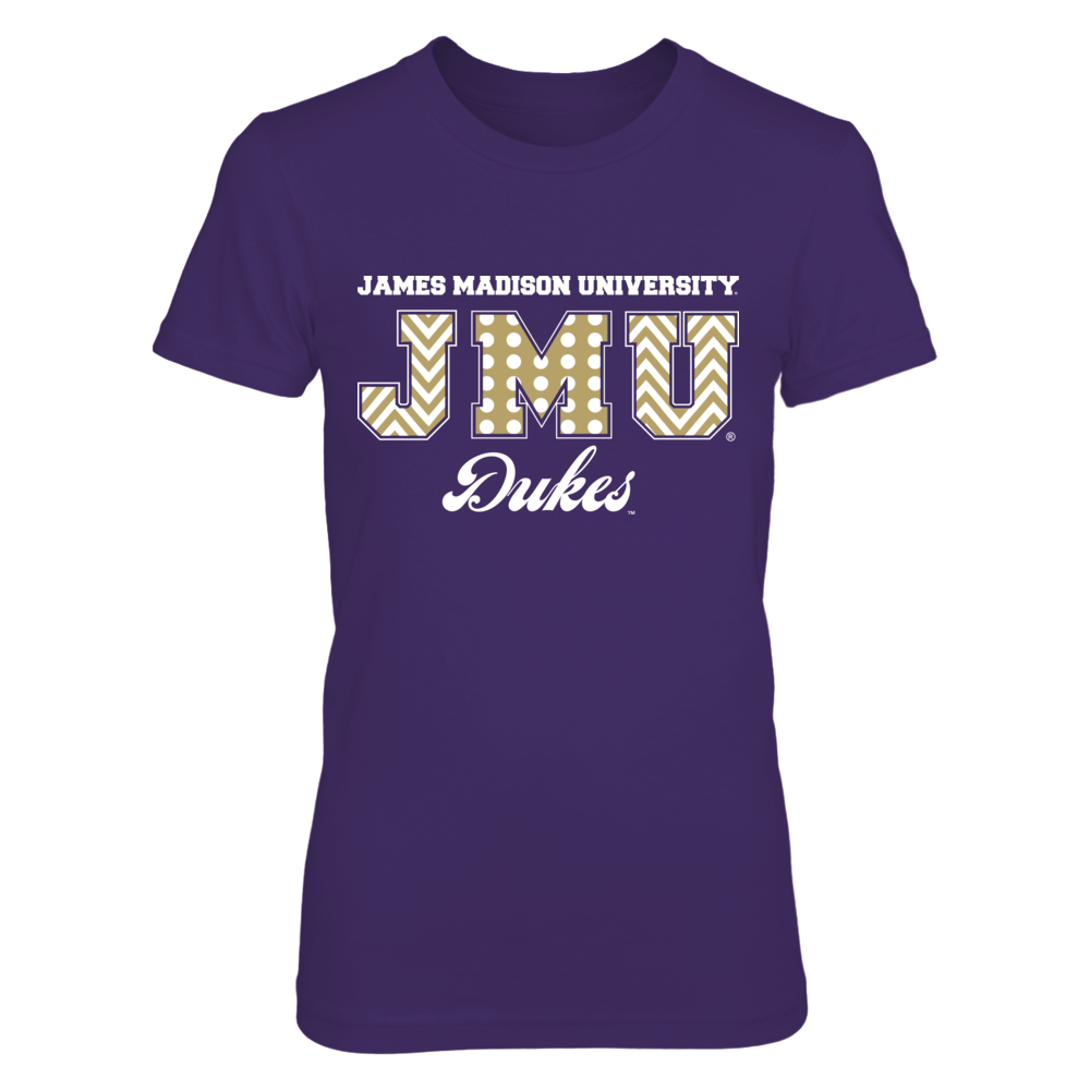 Patterned Letters - James Madison Dukes Front picture