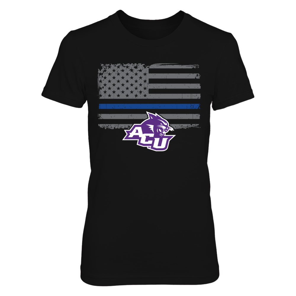 Thin Blue Line - Abilene Christian Wildcats Front picture