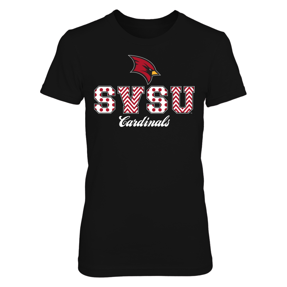 Patterned Letters - Saginaw Valley State Cardinals Front picture