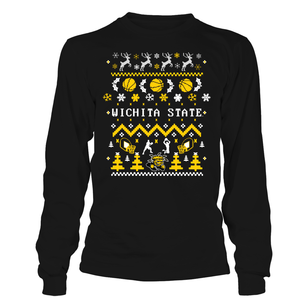 Wichita State Shockers - Ugly Christmas Sweater Front picture