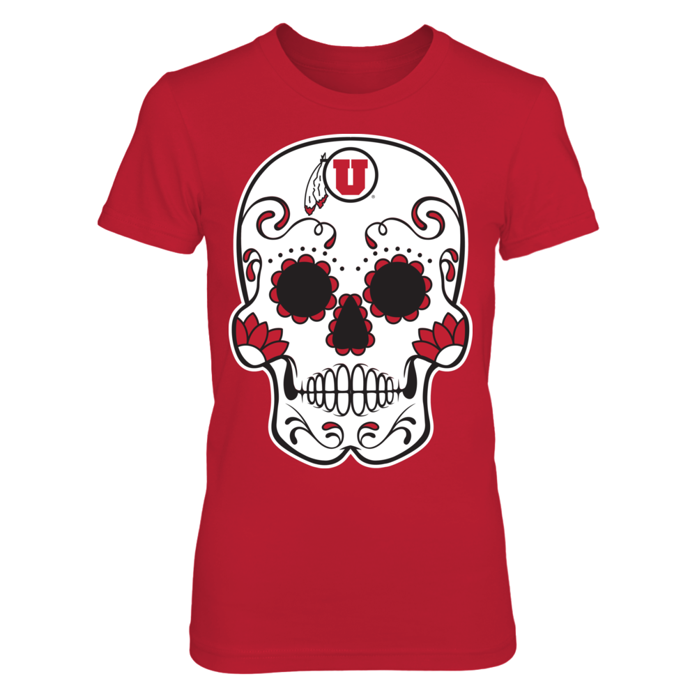 Utah Utes - Sugar Skulls Front picture