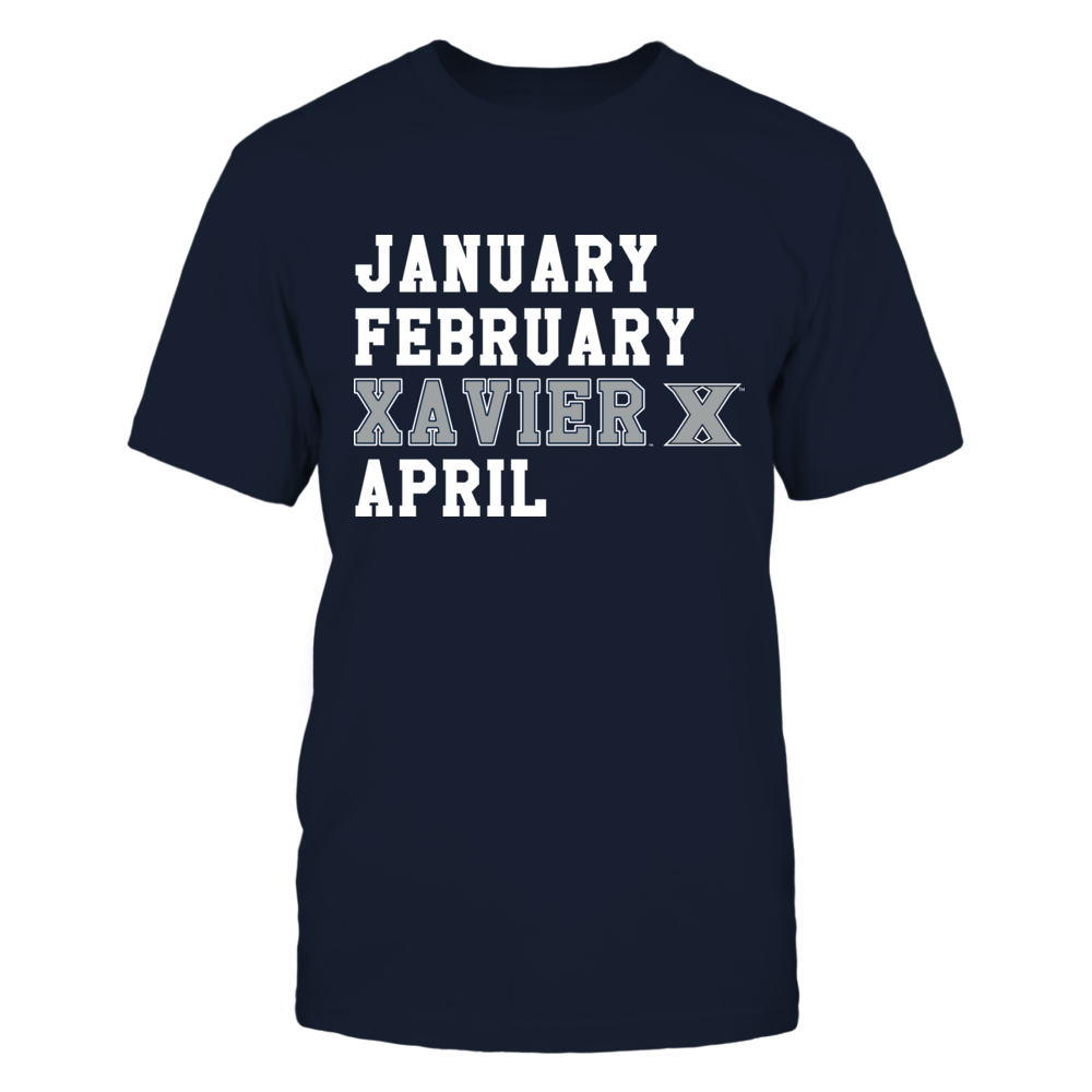 Xavier Musketeers - January February April Front picture