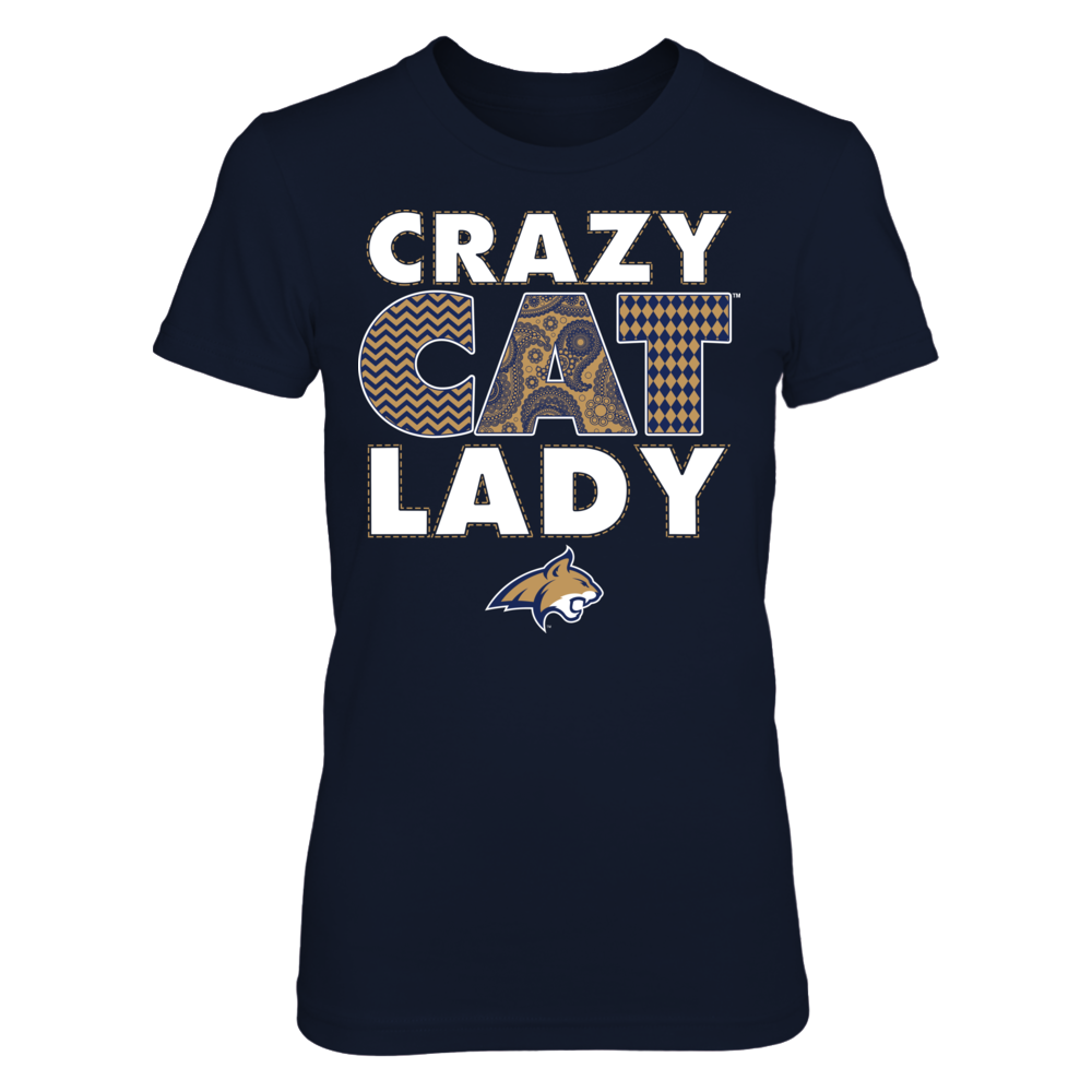Montana State Bobcats - Crazy Lady Front picture